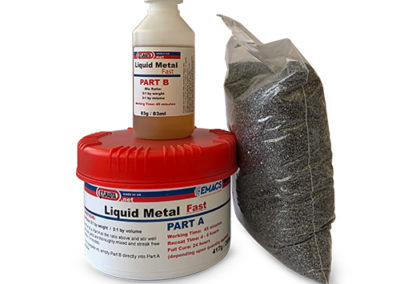 Liquid Metal + Grits